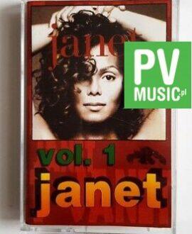JANET JACKSON JANET vol.1 audio cassette