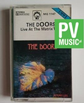 THE DOORS LIVE AT THE MATRIX 1967 audio cassette