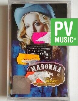 MADONNA MUSIC audio cassette