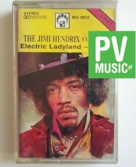 THE JIMI HENDRIX EXPERIENCE ELECTRIC LADYLAND audio cassette