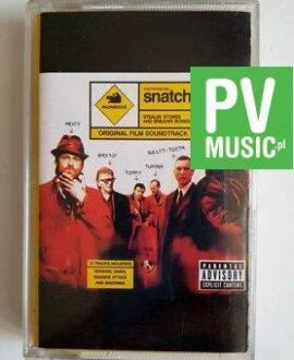 SNATCH SOUNDTRACK audio cassette