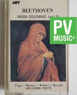 BEETHOVEN MISSA SOLEMNIS vol.III audio cassette