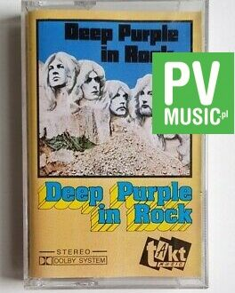 DEEP PURPLE  IN ROCK audio cassette