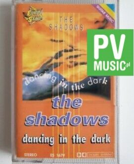 THE SHADOWS  DANCING IN THE DARK audio cassette