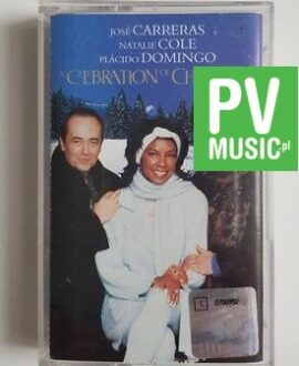 J. CARRERAS, N. COLE, P. DOMINGO A CELEBRATION OF CHRISTMAS  audio cassette
