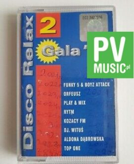 DISCO RELAX '98 TOP ONE, ORFEUSZ.. audio cassette