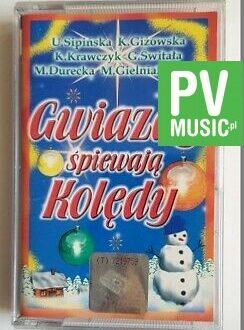 GWIAZDY ŚPIEWAJĄ KOLĘDY U.SIPIŃSKA, K.GIŻOWSKA.. audio cassette
