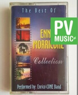 ENNIO MORRICONE THE BEST OF, PERFORMED ENRICO CONE BAND audio cassette
