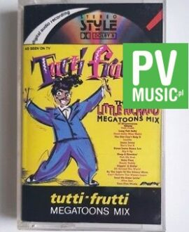 TUTTI FRUTTI LITTLE RICHARD MEGATOONS MIX audio cassette