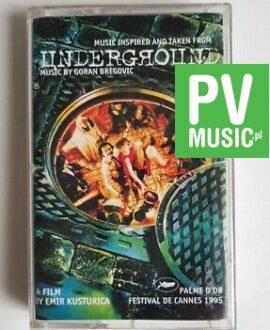UNDERGROUND SOUNDTRACK audio cassette