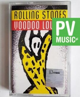 ROLLING STONES VOODOO LOUNGE audio cassette