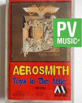 AEROSMITH TOYS IN THE ATTIC audio cassette