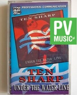 TEN SHARP UNDER THE WATERLINE audio cassette