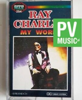 RAY CHARLES MY WORLD audio cassette