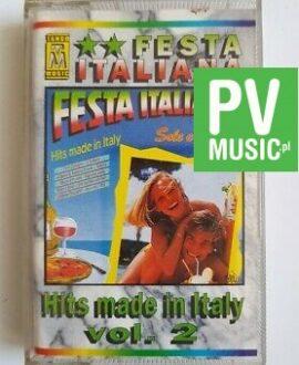 FESTA ITALIANA vol.2 VOLARE, VAMOS.. audio cassette
