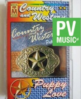 COUNTRY AND WESTERN PUPPY LOVE audio cassette