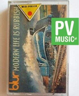 BLUR MODERN LIFE IS RUBBISH audio cassette