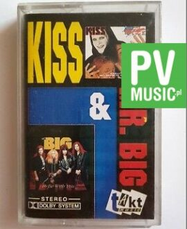 KISS & MR. BIG TO BE WITH YOU.. audio cassette