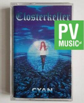 CLOSTERKELLER CYAN audio cassette