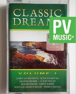 CLASSIC DREAMS vol.1 BETHOVEN, MOZART.. audio cassette