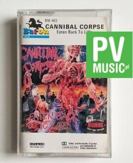CANNIBAL CORPSE EATEN BACK LIFE audio cassette