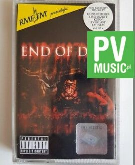 END OF DAYS SOUNDTRACK:PRODIGY, EMINEM.. audio cassette