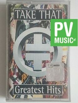 TAKE THAT  GREATEST HITS  audio cassette