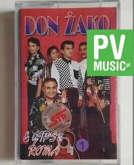 DON ŻAKO & GIPSY ROMA audio cassette
