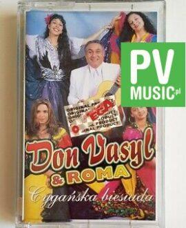 DON VASYL & ROMA CYGAŃSKA BIESIADA audio cassette