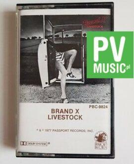 BRAND X LIVESTOCK audio cassette