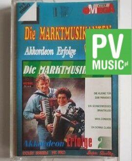 DIE MARKTMUSIKANTEN AKKORDEON ERFOLGE audio cassette