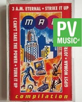 MAD MIX COMPILATION JOYRIDE, STRIKE IT UP.. audio cassette
