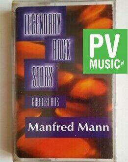 MANFRED MANN GREATEST HITS audio cassette