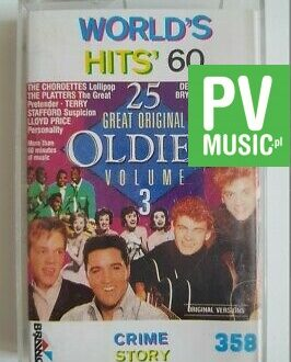WORLD'S HITS' 60 THE JARMELS, NED MILLER.. audio cassette