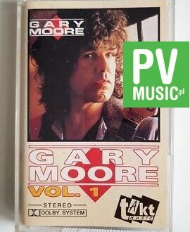 GARY MOORE vol.1 audio cassette