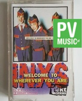 INXS WELCOME TO WHEREVER YOU ARE audio cassette