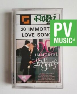 20 IMMORTAL LOVE SONGS THE EARLY BROTHERS.. audio cassette