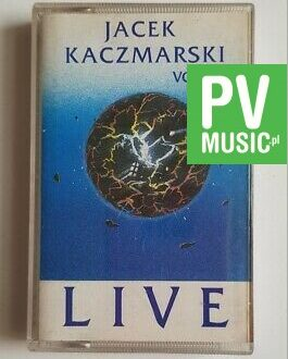 JACEK KACZMARSKI LIVE vol.1 audio cassette