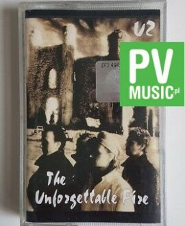U2 THE UNFORGETTABLE FIRE audio cassette