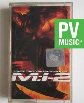 MISSION : IMPOSSIBLE 2 TOM CRUISE MUSIC FROM.. audio cassette