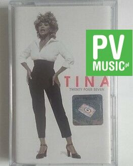 TINA  TWENTY FOUR SEVEN  audio cassette
