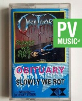 OBITUARY SLOWLY WE ROT audio cassette