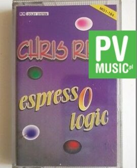 CHRIS REA ESPRESSO LOGIC audio cassette