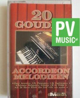 20 GOUDEN ACORDEON MELODIEEN audio cassette