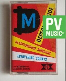 DEPECHE MODE BLASPHEMOUSE RUMOURS/EVERYTHING COUNTS audio cassette