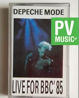DEPECHE MODE LIVE FOR BBC' 85 audio cassette