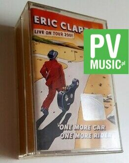 ERIC CLAPTON ONE MORE CAR ONE MORE RIDER 2xMC audio cassette
