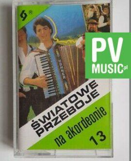 WORLD HITS AKORDEON audio cassette