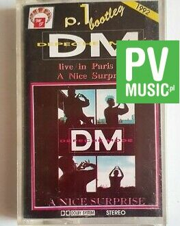 DEPECHE MODE live in Paris '90 a nice suprise audio cassette