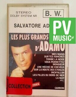 SALVATORE ADAMO LES PLUS GRANDS SUCCES audio cassette